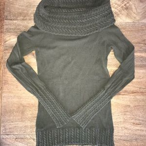 Cowl neck sweater by BCBG.
